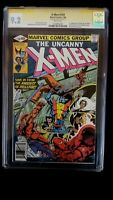 X-MEN #129 CGC 9.2 SS SIGNED STAN LEE 1ST KITTY PRYDE EMMA FROST WHITE PAGES