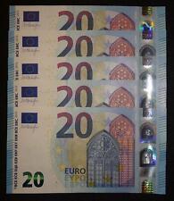 € 20 Euro | 2012-Present | European Union | Ireland | TC | Draghi | T001F4 | UNC