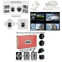 360° 1080P HD Car SUV Panoramic System Without Light Matte Night Vision+4*Camera