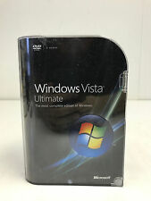 Windows Vista Ultimate 32 & 64 Bit Full Retail Version  #C-87