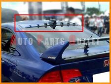 Honda Civic 8th Sedan 06-11 Gloss Black VG-Type Rear Roof Fin Wing Spoiler Lip