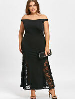 Plus Size Womens Formal Cocktail Evening Party Long Maxi Mermaid Dress Ball Gown