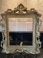 Antique Brass Large Ornate Frame