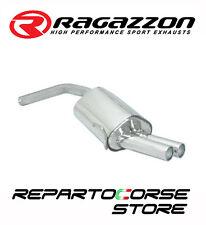 RAGAZZON SCARICO TERM.LI TONDI SFALSATI 2x80mm ALFA ROMEO GT 1.9JTD 110kW 150CV
