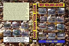 2994. West Midlands Video Archive. Volume 10 2000  Filmed in Walsall & Wolverham