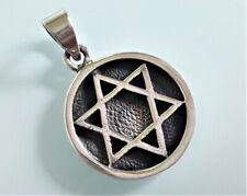 Star of David Pendant Sterling Silver 925 Sacred Symbols Talisman Protective Amu