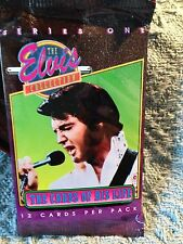 """NOS 1992 THE RIVER GROUP """"THE ELVIS COLLECTION"""" CARDS OF HIS LIFE SERIES ONE #3"""