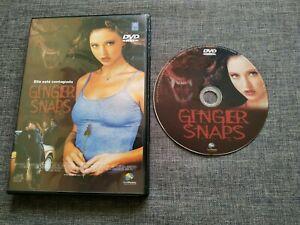 DVD GINGER SNAPS - Ella esta contagiada - 2001 - paramount - deaplaneta