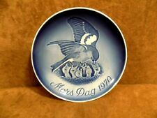 """Royal Copenhagen B&G Collector Plate """"Mothers Day"""" 1970 Orig. Box"""