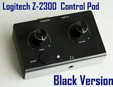 Logitech Z-2300 Computer Speaker Replacement Control Pod Wired Remote Black New