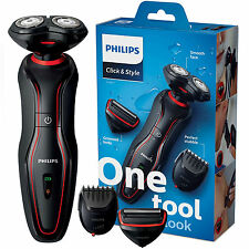 Philips Click & Style Shaver ComfortCut Beard Trimmer Groom Cordless S738/17