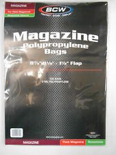 More details for resealable magazine bags thick x 100 (bcw)