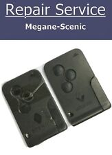 Key Fob Repair Service - Renault Megane Scenic With New Case