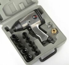"1/2"" AIR IMPACT WRENCH GUN KIT SOCKETS W/CASE"