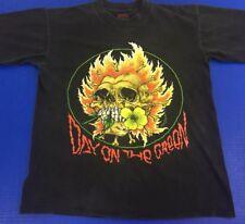 Men's Large Vintage Metallica T-Shirt Day on the Green 1991 Pushead Concert Tour