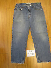 Used 559 relaxed straight fit levi's jean tag 36x30 meas 34x29.5 zip7597