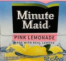 Minute Maid Pink Lemonade 12 pack