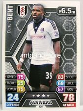 Match Attax 2013/14 Premier League - #126 Darren Bent - Fulham