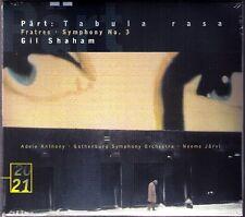 Neeme JÄRVI & Gil SHAHAM: ARVO PÄRT Symphony No.3 Tabula Rasa Fratres CD JARVI