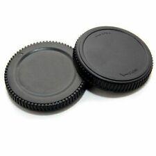 Olympus compatible Micro Four Thirds Rear Lens Cap & Body Cap E-PL2 E-PL3 E-PL5