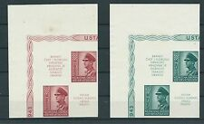 CROATIA, NDH, Pavelic, unperforated proof with label ,no gum,very rarely, HCV