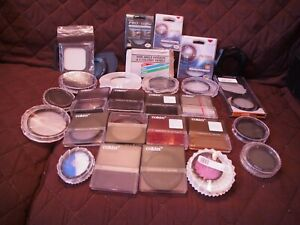 Joblot of Vintage Small Square and circular filters. COKIN Others. Colour. UV .S