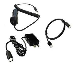 For OnePlus Nord N100 (BE2013) Car Charger + Wall Charger + Type C USB 3.1