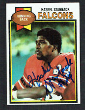 Haskel Stanback #237 signed autograph auto 1979 Topps Football Trading Card