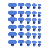 30pcs Tools Glue Pulling Tabs Puller For Paintless Dent Repair Removal kit