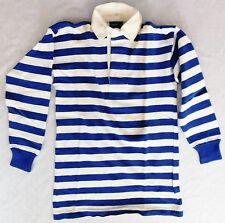 Bukta vintage 1950s 60s football shirt rugby top polo school boys sports kit 34