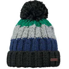 259c5e83 2019 Adult Barts Beanie Wilhelm Hat Green Multi Colour Knit Pom Stripe