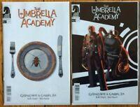 Umbrella Academy Hotel Oblivion 1-2 Cover A Set Dark Horse Comics Netflix NM