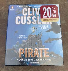Clive Cussler -- Pirate Audio Book CDs ( Unabridged 8 Discs ) SEALED