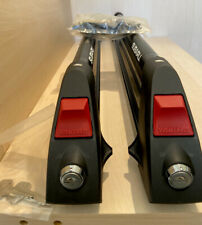 New listing SUBARU BRANDED YAKIMA SKI  SNOWBOARD ROOF RACKS WITH KEYS LOCKS WINGNUTS BOLTS