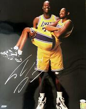 Shaq O'Neal JSA SIGNED 16x20 AUTOGRAPHED Shaquille / Holding Kobe Bryant RARE