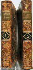Jerusalem délivrée Poème du Tasse chez Lehoucq 1789 2 tomes