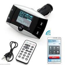 "Bin 1.5"" Lcd Car Kit Mp3 Bluetooth Player Fm Transmitter Modulator Usb Sd Mmc"