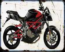 Bimota Db6 Delirio E 12 A4 Metal Sign Motorbike Vintage Aged
