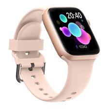 Reloj inteligente con Bluetooth para iPhone Android Teléfono Reloj de seguimiento para ejercicio Impermeable