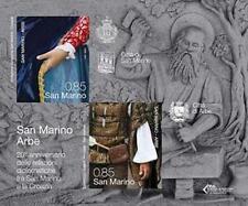 San Marino 2012 Bf 20° anniversario relazioni diplomatiche SanMarino Croazia Mnh