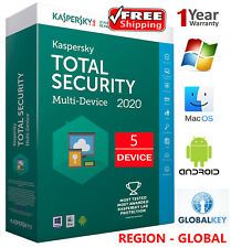 KASPERSKY TOTAL Security 2020 / 5 DEVICE / 1 Year / Region - Global 18.25$
