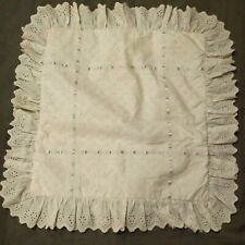 Simply Shabby Chic Ruffled Lace Square British style Pillowcase 15""