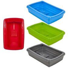 Gatera PlasticForte | Arenero, caja o bandeja de arena para Gatos | VA Colores