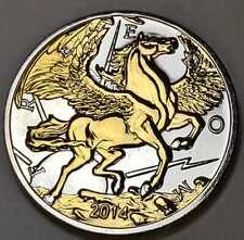 6PCS 16x15MM 24K Gold Color Brass Pegasus Horse Pendants Findings 30801