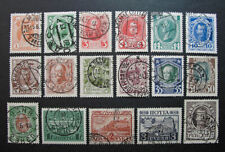 Russia 1913 #88-104 Used Russian Imperial Empire Romanov Dynasty Set $65.00!!
