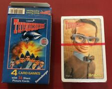 Thunderbirds 36 Giant Cards X 4 Games by Ravensburger. Age 3+ yrs.1999 UNOPENED