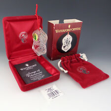 Waterford Crystal 2002 Deck the Halls Songs of Christmas Tree Ornament