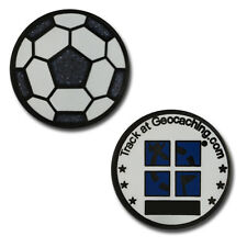 Football / Soccer Ball Micro Geocoin For Geocaching