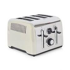 Breville Aurora CREAM Stainless Steel 4 Slice Toaster Stylish Elegant Rounded