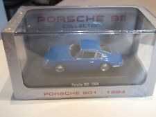 Atlas Porsche 911 Collection Porsche 901 Bj.1964 Blau in vitrine mit OVP 1:43